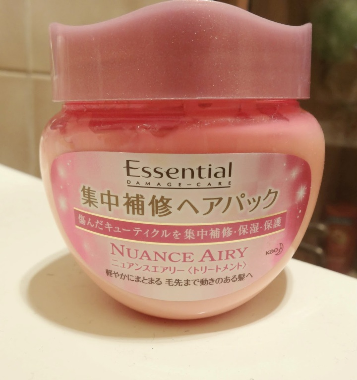 Kao Essential Damage-Care Nuance Airy Hair Mask Review