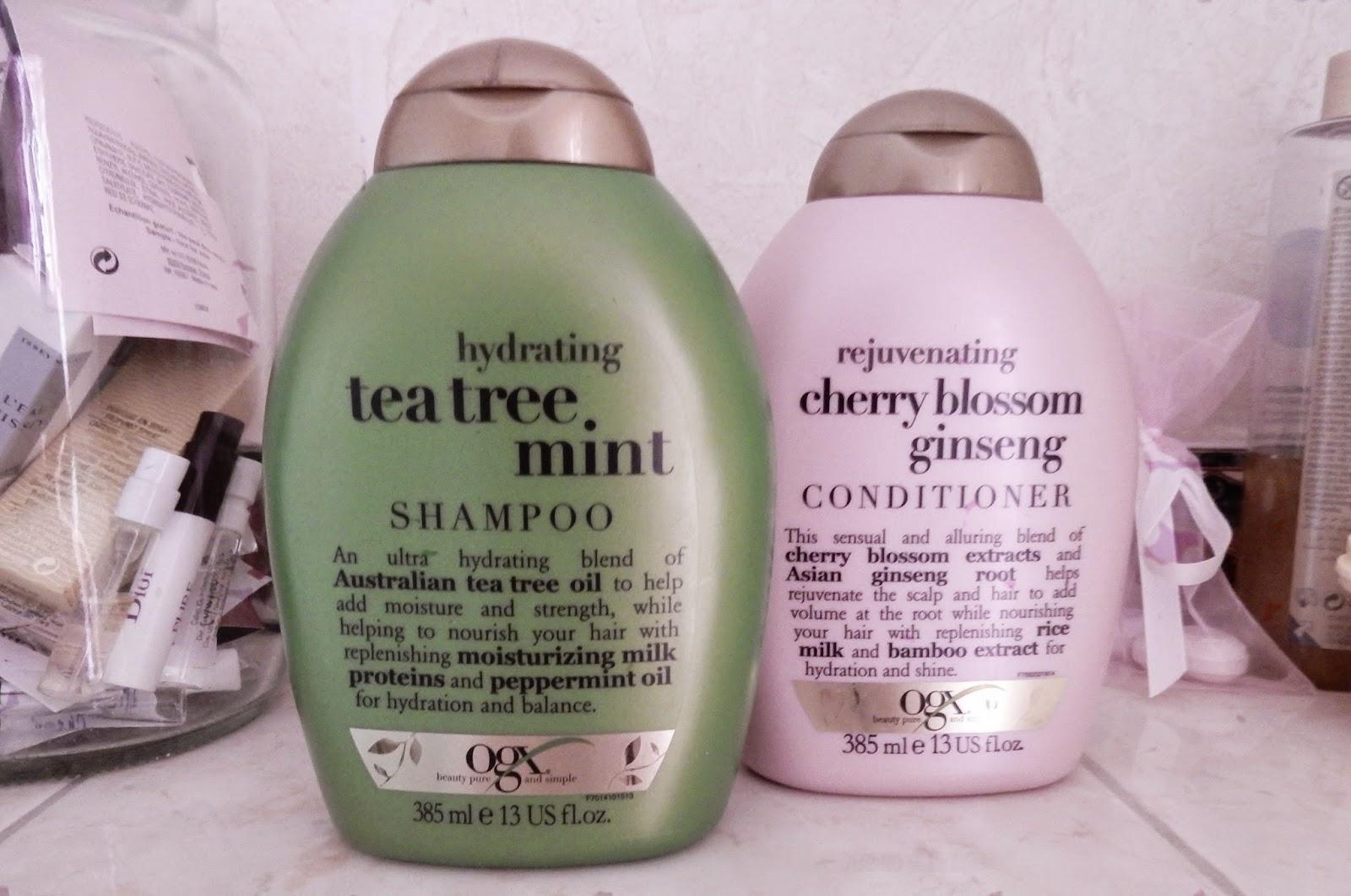 eczema shampoo tea tree ogx mint head care