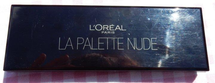 Review: L'Oréal Paris La PaletteNude