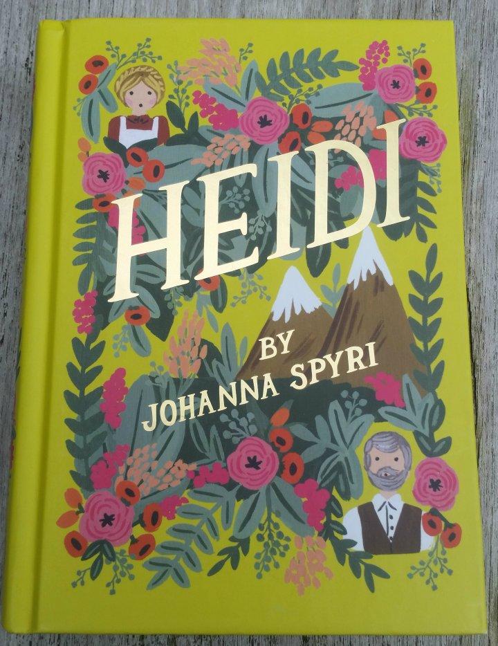 Children's Book Sunday: Heidi by JohannaSpyri