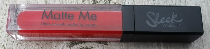 Review: Sleek Matte Me in Rioja Red