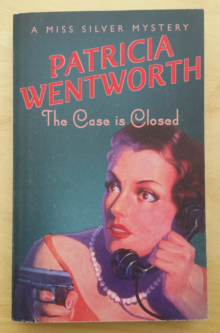 Review: the Case is Closed by PatriciaWentworth