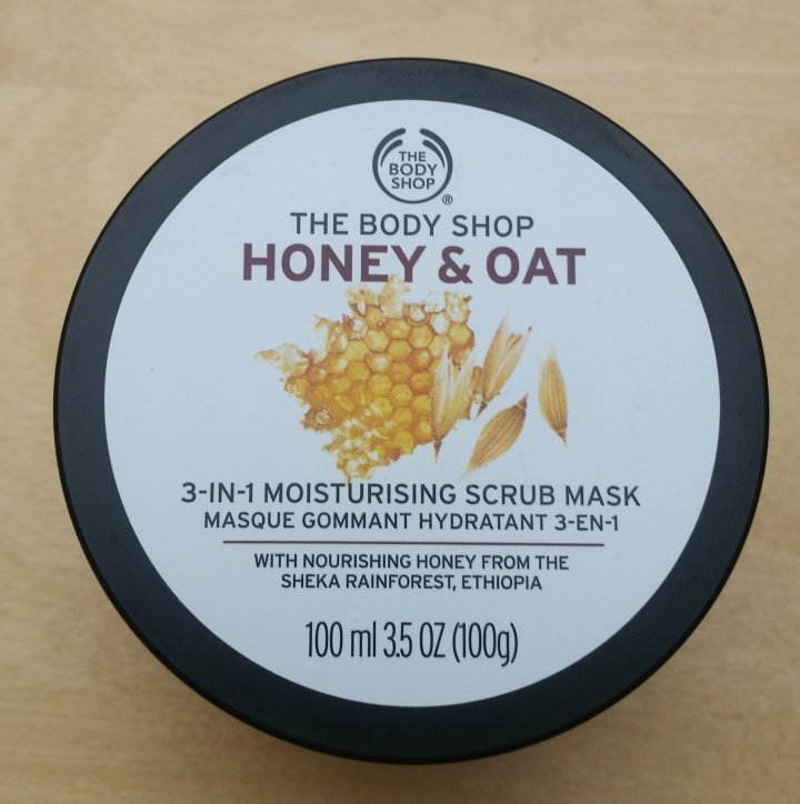 Review: the Bodyshop Honey and Oat face mask