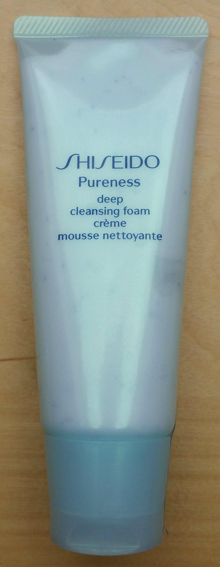 Review: Shiseido Pureness Deep CleansingFoam