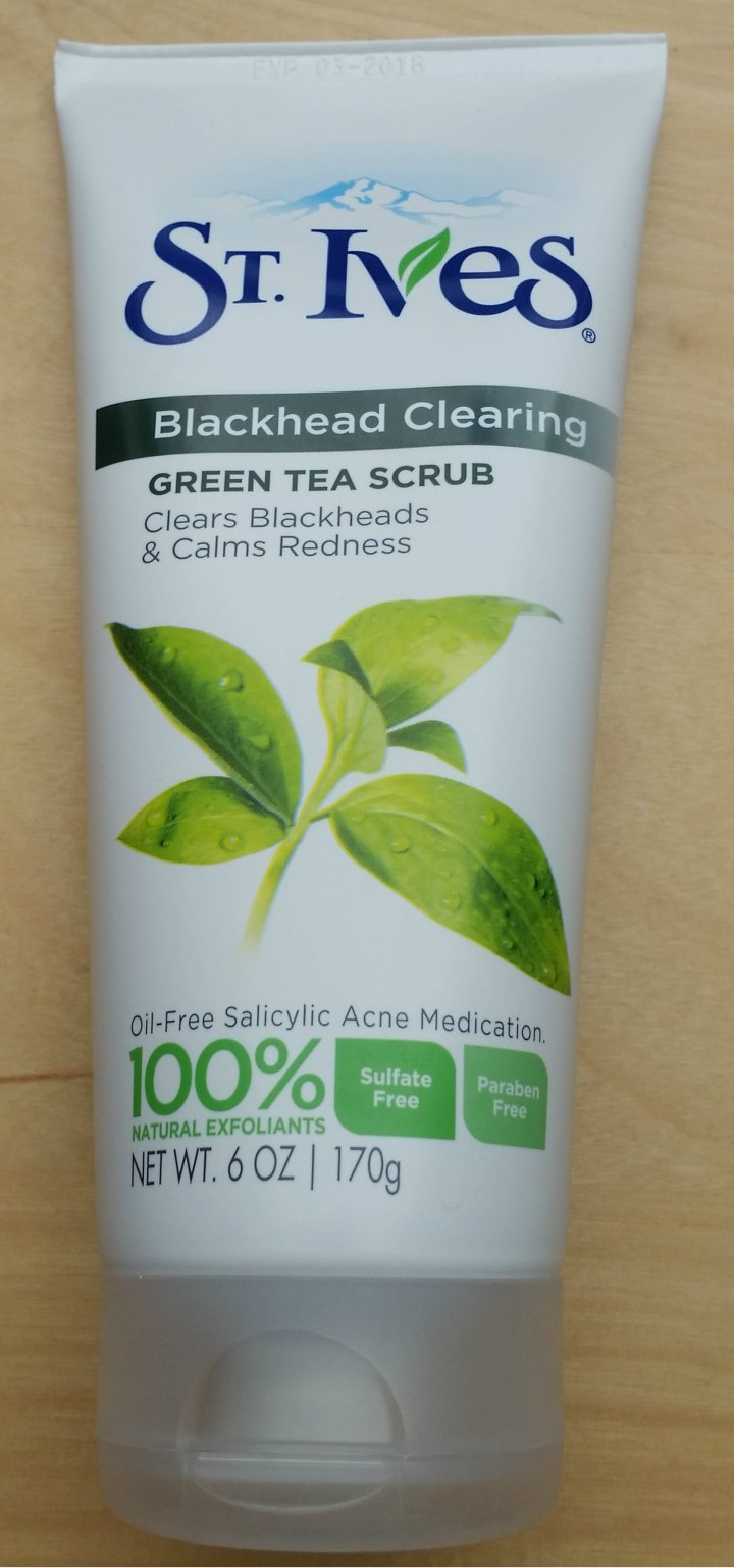 Review: St. Ives Green Tea Scrub