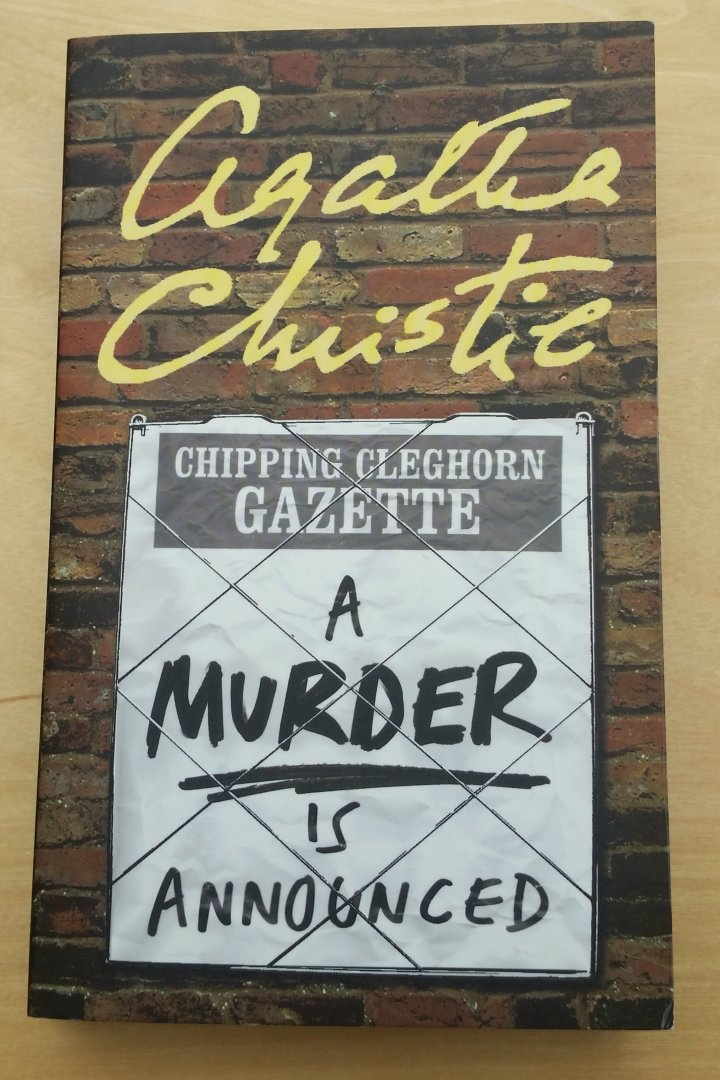 Review: a Murder is Announced by AgathaChristie