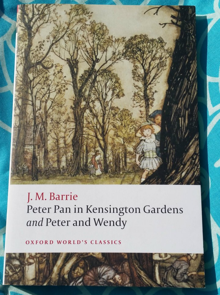 Children's Book Sunday: Peter Pan in Kensington Gardens and Peter and Wendy by J.M. Barrie