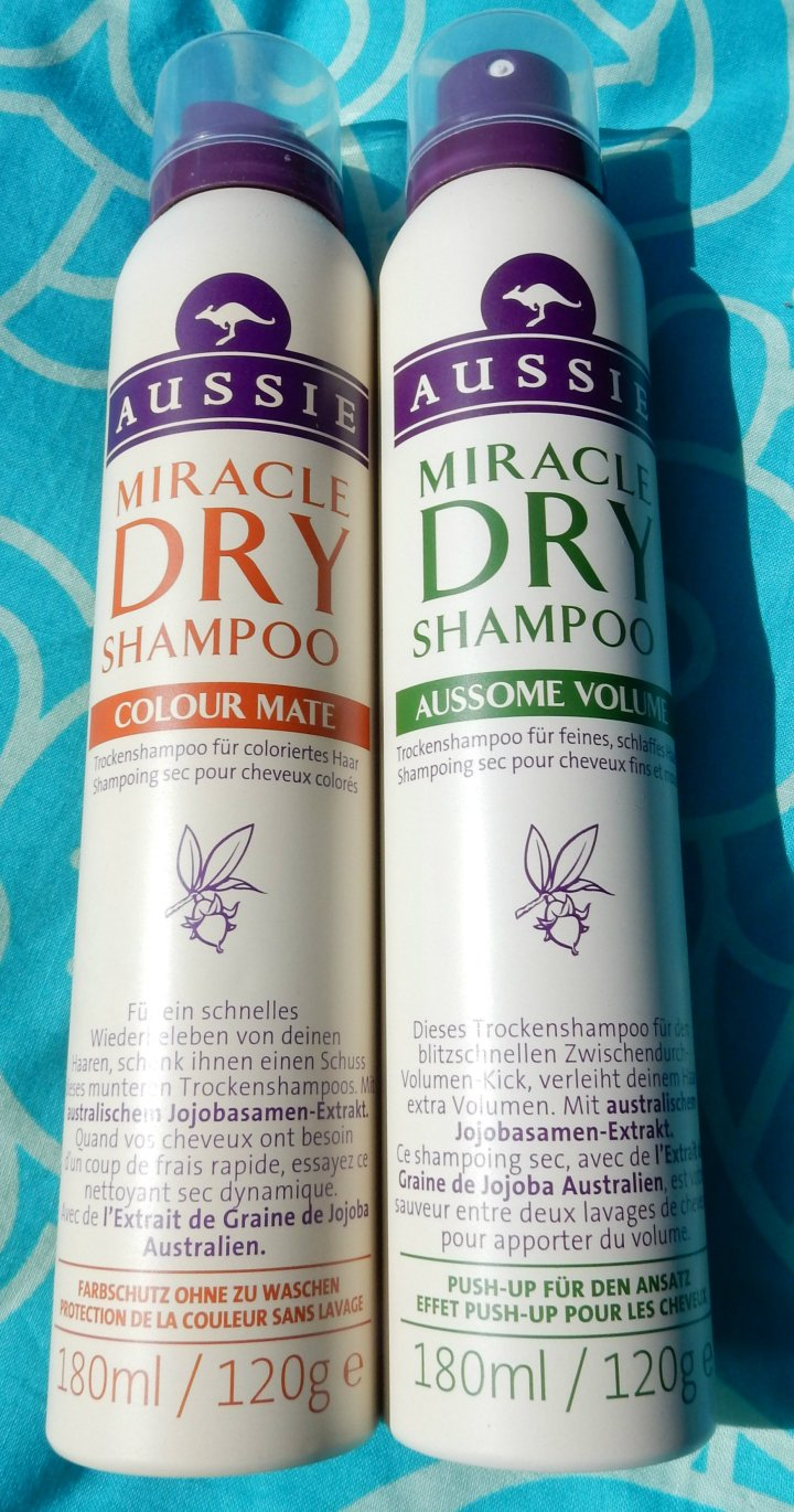 Review: Aussie Dry Shampoo