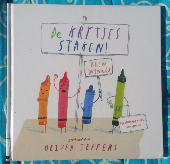 Children's Book Sunday: the Day the Crayons Quit by DrewDaywalt