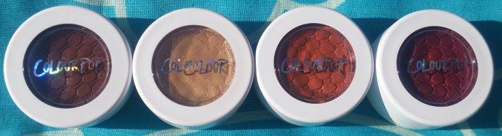 Review: Colourpop Super Shock Shadow CollectionZingara
