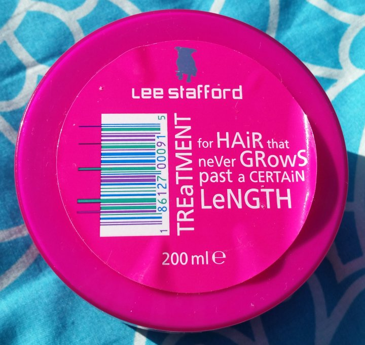 Review: Lee Stafford Treatment for Hair that never Grows past a certain Length