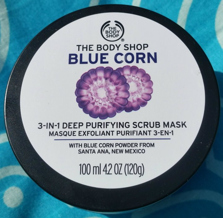 Review: the Body Shop Blue Corn 3-in-1 Deep Purifying ScrubMask