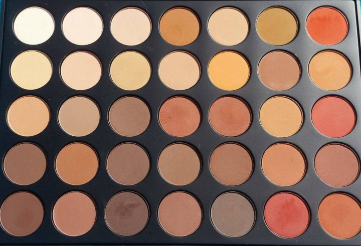 Review: Morphe 35OM  Matte Nature Glow Palette