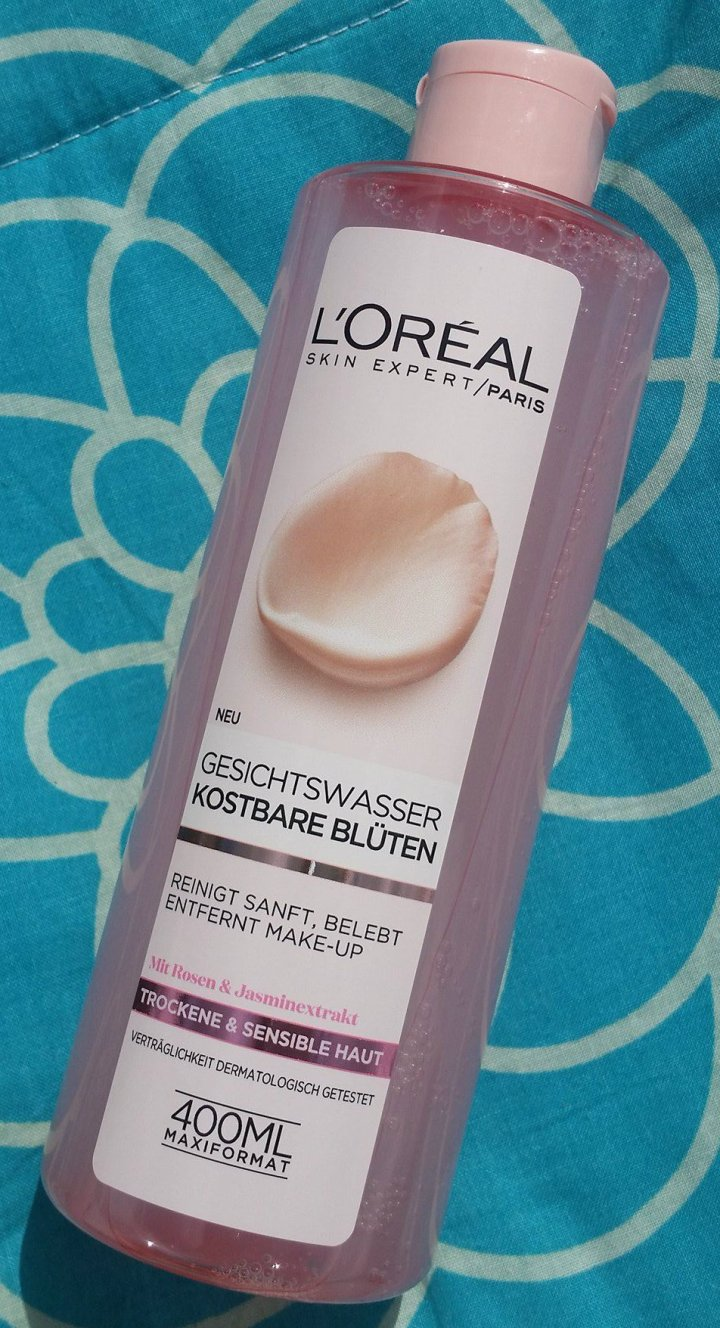 Review: L'Oreal Paris Fine Flowers Cleansing Toner