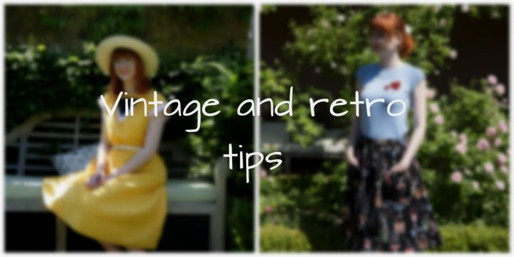 Tips for a vintage look