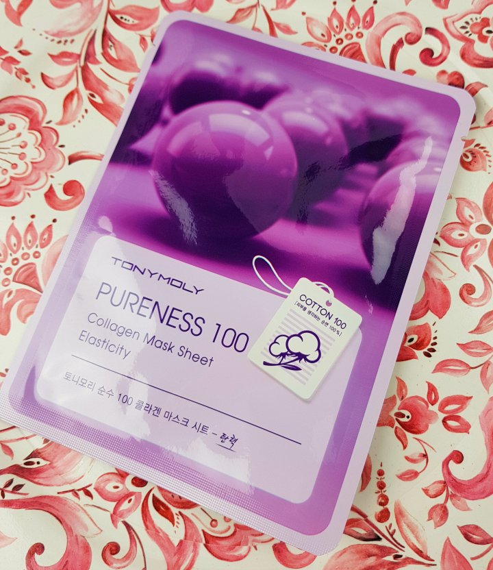 Mask Monday: TonyMoly Pureness 100 Collagen Mask Sheet