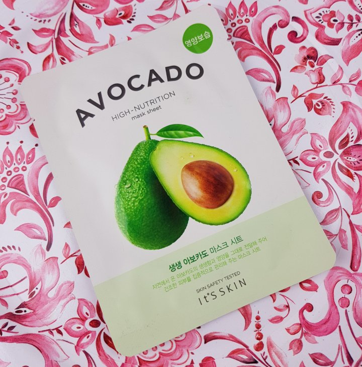 Review: It's Skin Avocado Face Mask