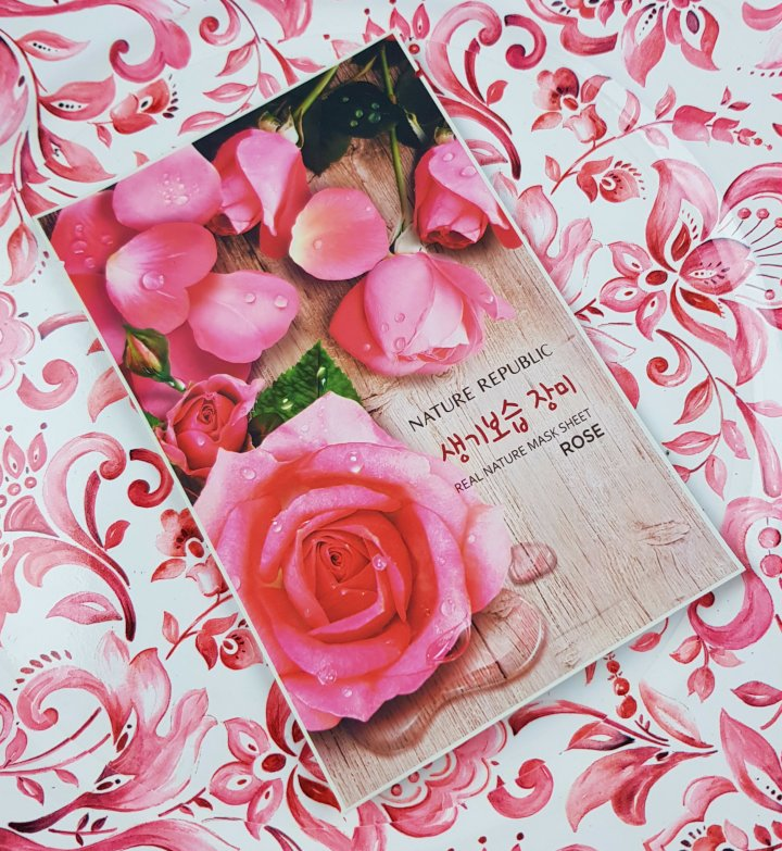 Mask Monday: Nature Republic Real Nature Mask Sheet Rose