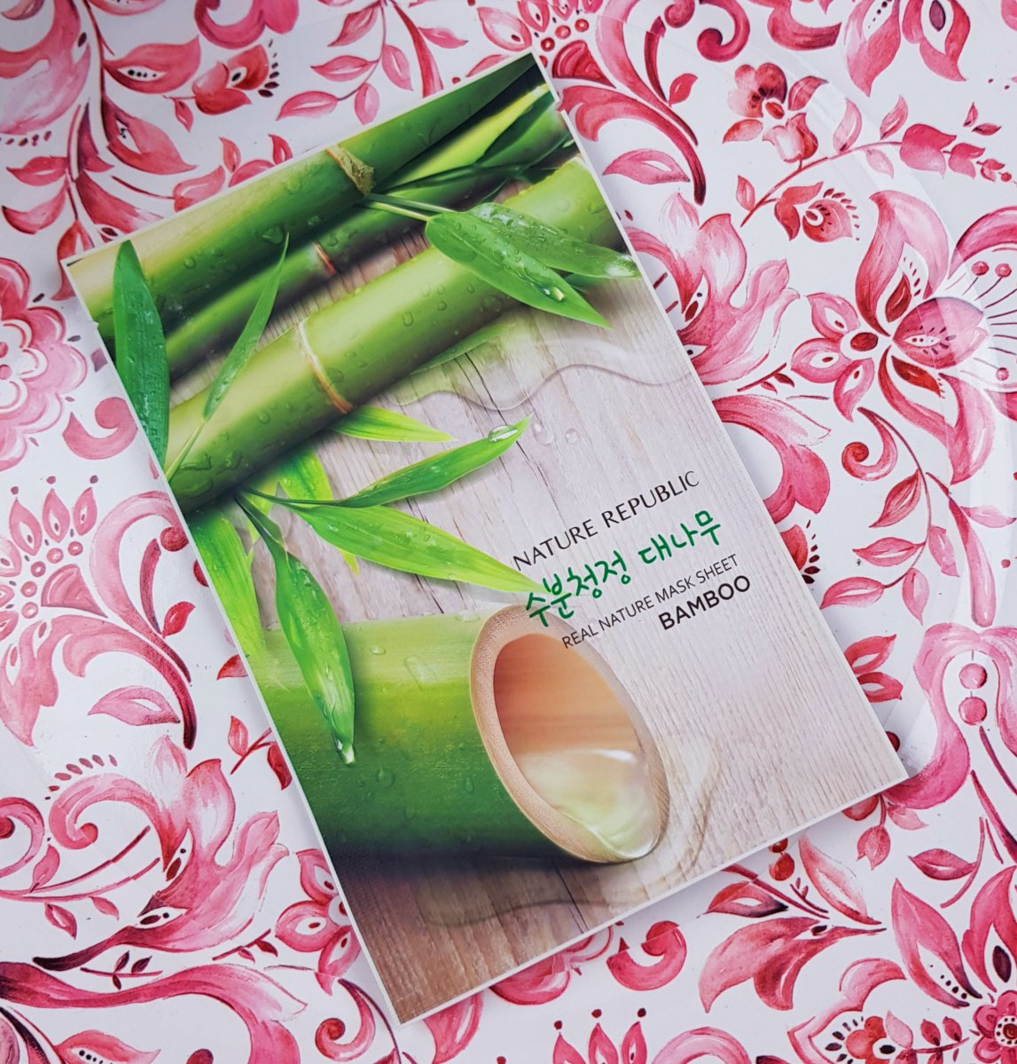 Mask Monday: Nature Republic Real Nature Mask Sheet in Bamboo