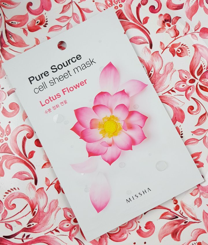 Mask Monday: Pure Source Lotus Flower Cell Sheet Mask
