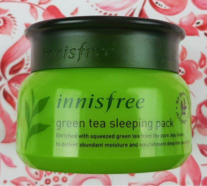 Mask Monday: Innisfree Green Tea Sleeping Pack