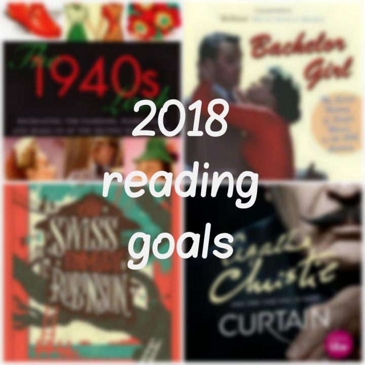 My 2018 ReadingGoals