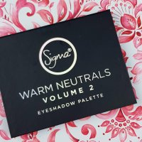 Review: Sigma Warm Neutrals Volume 2 Eyeshadow Palette