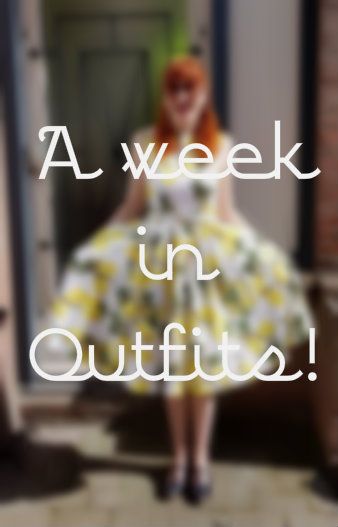 A week in outfits!