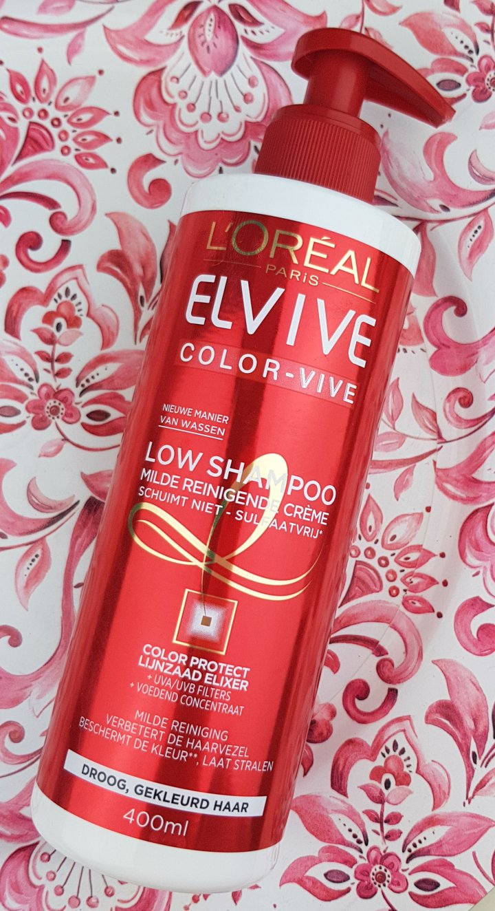 Review: L'oreal Elvive Color-vive LowShampoo