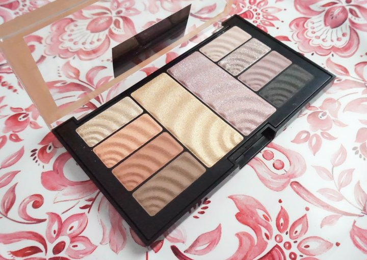 Review: Maybelline Total Temptation Eyeshadow + Highlight Palette