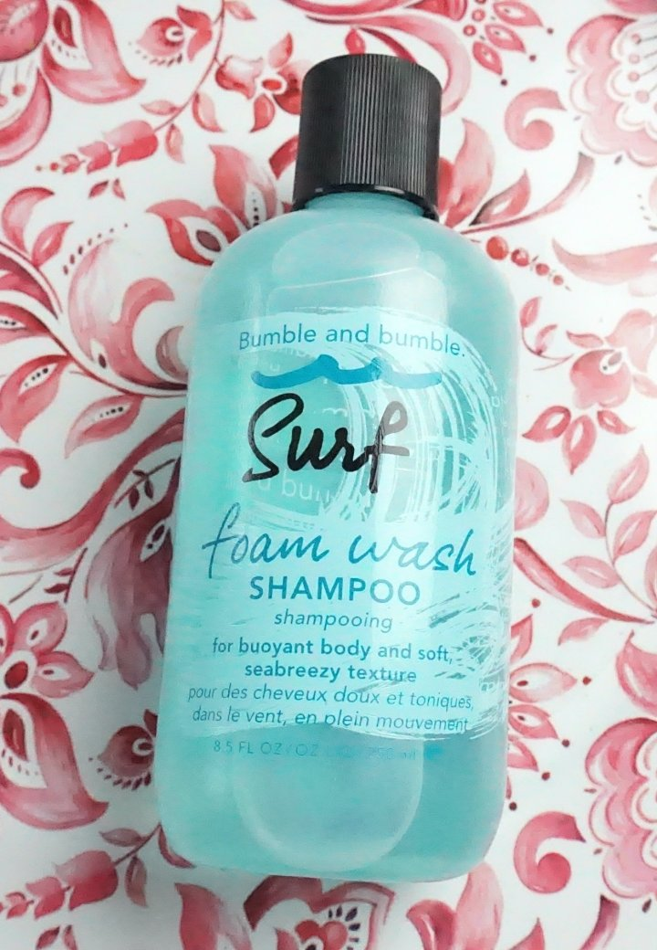 Review: Bumble and Bumble Surf Foam Wash Shampoo