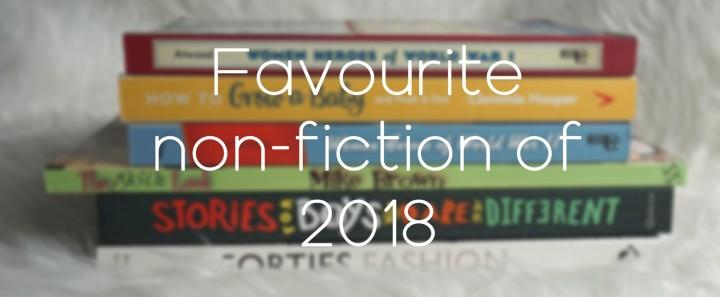 Favourite Non-fiction of2018!!