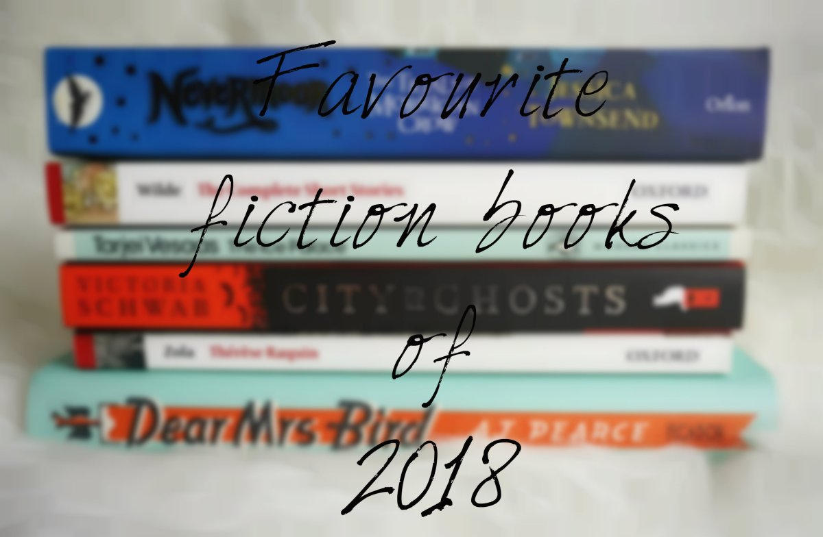 Favourite Fiction Books of 2018!!