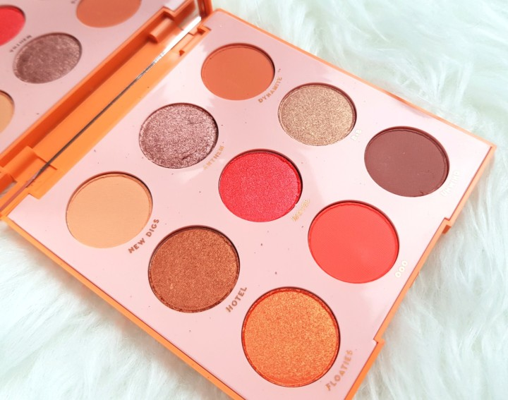 Review: ColourPop Pressed Powder Shadow Palette in Sol