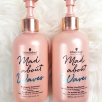 Review: Schwarzkopf Professional Mad About Waves Shampoo and Conditioner