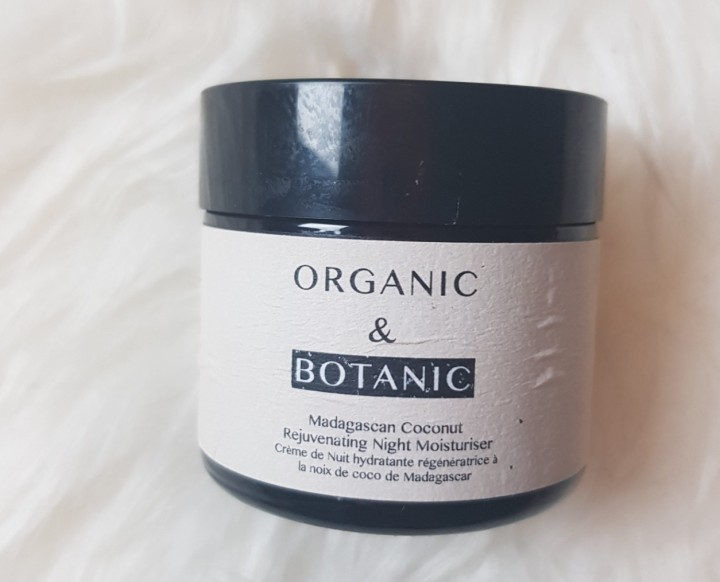 Review: Organic & Botanic Madagascan Coconut Rejuvenating Night Moisturiser